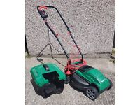 Qualcast Electric Rotary Lawnmower - 1200W – Less than one year old
