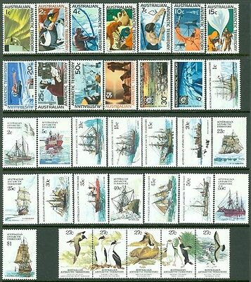 AUSTRALIA ANTARCTICA : Collection of 4 Complete set. All different. VF, MOGLH.