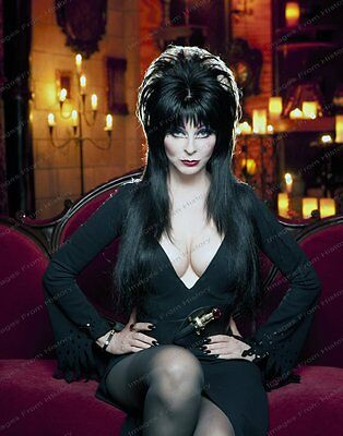 8x10 Print Cassandra Peterson Elvira Mistress of the Dark #CAP