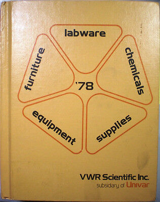 Van Waters Rogers Vwr Univar Scientific Laboratory Catalog Asbestos Schools 78