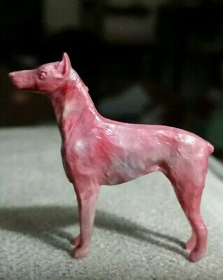 Cracker Jack Large Dog stand up figure toy 1940S 1950S
