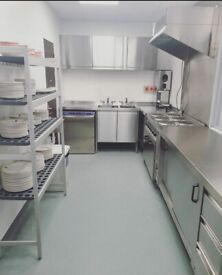 New commercial kitchens available. Dark kitchens or food prep, cold rooms in Wembley Park Royal NW10