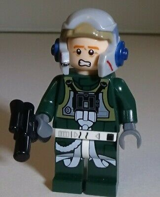 Lego Star Wars A-Wing Rebel Pilot Minifigure minifig 75003