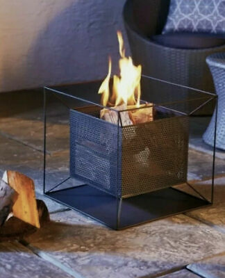 Gardenline Square Fire Basket Pit Bowl Garden Brand New ✅ In Hand to collect