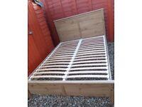 Ikea Aspelund Double Bed.