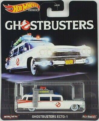 Hot Wheels Ghostbusters Ecto-1 Car Retro Entertainment DMC55 Mattel