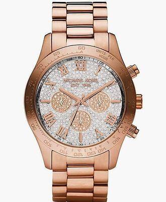 Michael Kors Layton Rose Gold-Tone Chronograph Ladies Watch MK5946