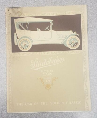 1917 Studebaker Series 18 Sales Catalog