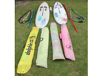 Windsurfing Boards and Equipment
