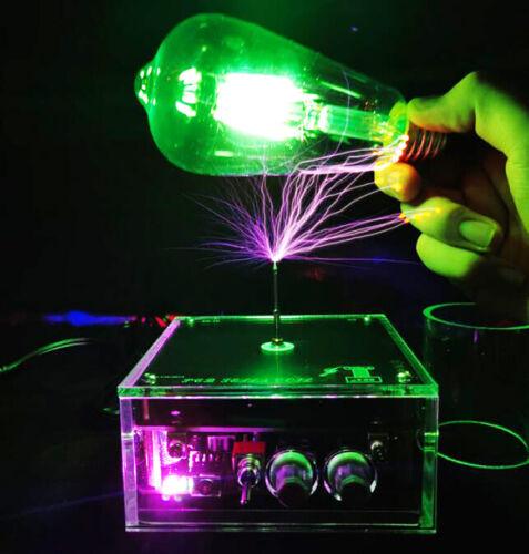 Solid Music Tesla Coil High-power DIY Lightning Model Educational Toy 50v