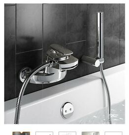 Brand new wall mounted bath mixer taps
