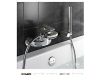 Brand new wall mounted bath mixer taps