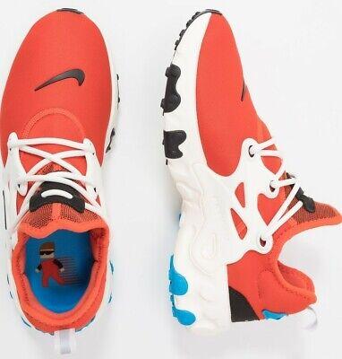 Nike React Presto Mens Cosmic Clay/Black/Blue/Sail Trainers Running Shoes UK 9