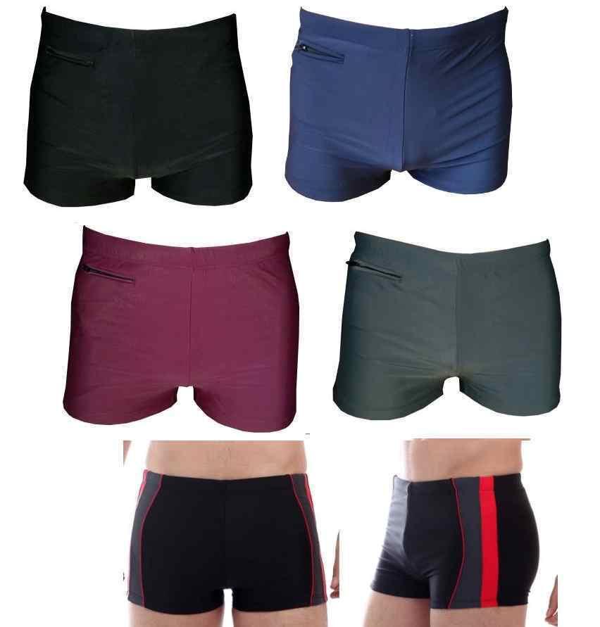 Herren Jungs Badehose Sport Badepants Shorts schwimmen Hose GR 46-54 S M L XXL