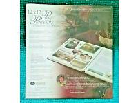 CREATIVE MEMORIES SCRAPBOOK METALLIC  PAPER  PACK 6 10 X 12  NIP