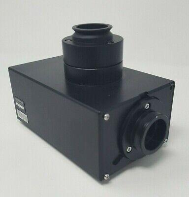 Olympus Microscope Fluoview Water Immersion Trinocular Tube Fv3-lvtwi