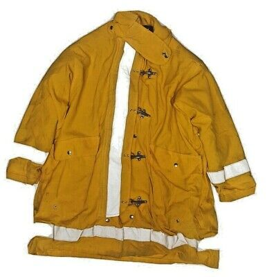 54x36 Morning Pride Firefighter Yellow Turnout Jacket Coat J876