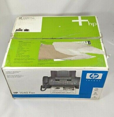 Hp 1040 Inkjet Fax Machine With Built-in Telephonescan Print