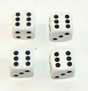 Set-of-Four-White-Dice-Dust-Caps-X4-80s-Retro-Valve-Caps-BMX-VW