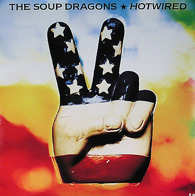 The Soup Dragons 1992 Hotwired Original Promo Poster