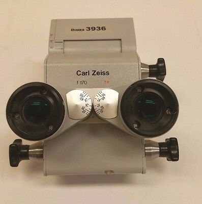Zeiss Surgical Microscope F170 Head Inclinable Binocular Inv 3936