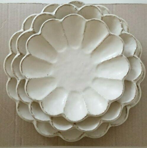 Mino Yaki Kaneko Kohyo Rinka Plate 17, 21, 24cm Set