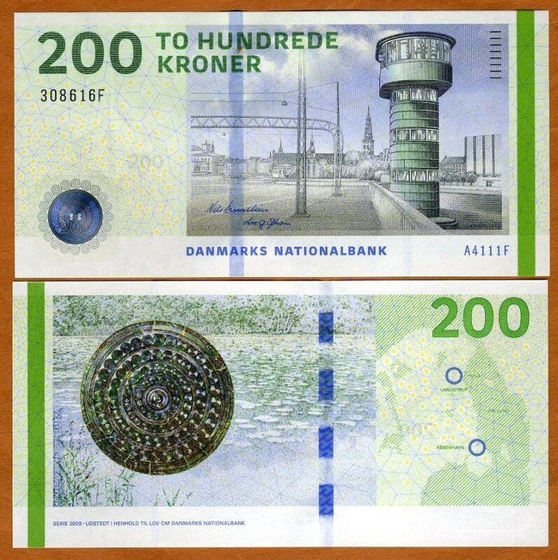 Denmark, 200 Kroner, 2016, P-67f, UNC