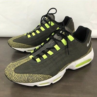 0137686291c Nike Air Max 95 SE Olive Canvas Gum Men Running Casual Shoes Sneakers AJ2018 -300