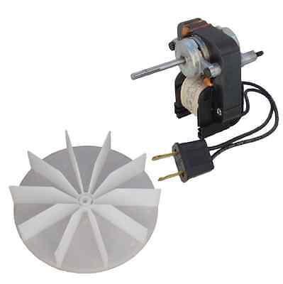 Electric Fan Motor Kit W Blower Wheel 3 16 Shaft 120V Bathroom Exhaust Vent