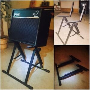 Amplifier or monitor stand.