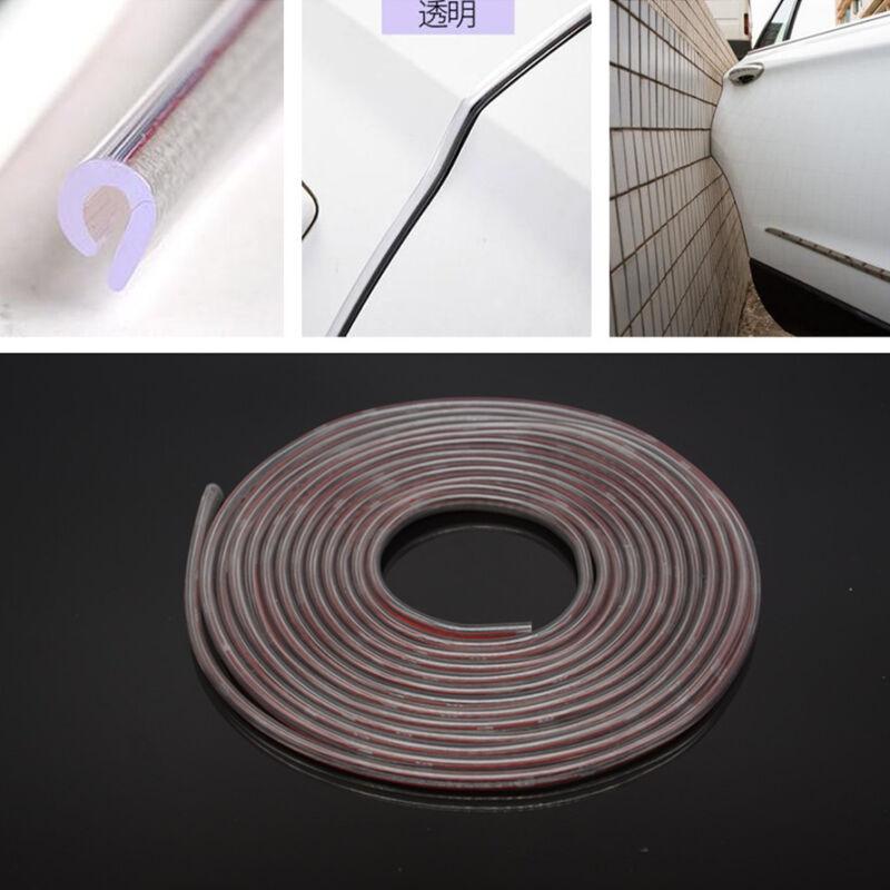 Car Anti-Rub Door Edge 5m Strip Invisible Protection Anti-collision Transparent