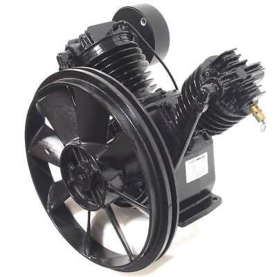 Schulz V-series Air Compressor Pump 5hp Msv 20 Max 20 Cfm- New