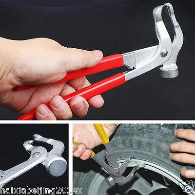 Car Wheel Weight Pliers Hammer Vehicle Balance Balancer Tool Metal Tire Repair