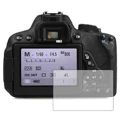 3 Clear Front Anti Scratch Screen Cover for Canon EOS 700D