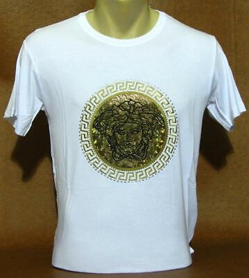 Brand New With Tags Men's VERSACE Short Sleeve T-SHIRT