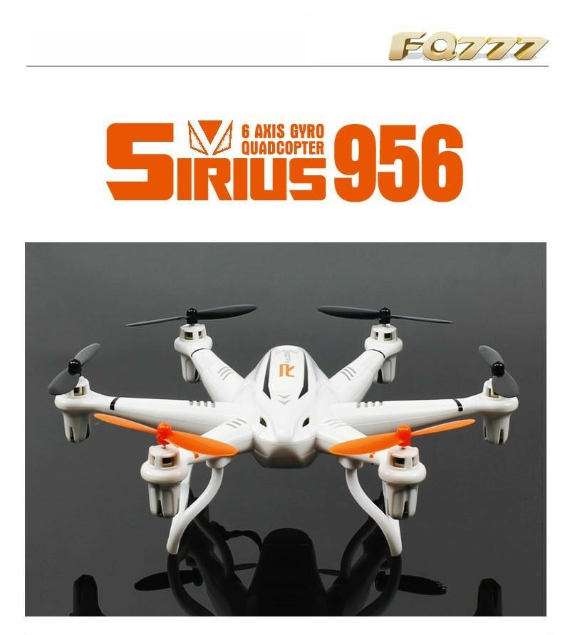 FQ777 956 / 956C (with HD Camera RTF) 2.4G 4CH Drone Headless Mode RC Quadcopter