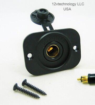 Waterproof 12V Accessory Panel Dash Power Socket Outlet BMW Powerlet Hella Plug