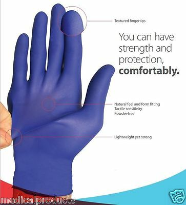 Cardinal Health Flexal Feel Nitrile Exam Gloves Case Of 2000-pick Size Smlxl