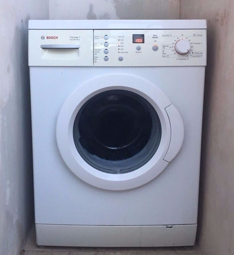 bosch classixx 6 washing machine instructions