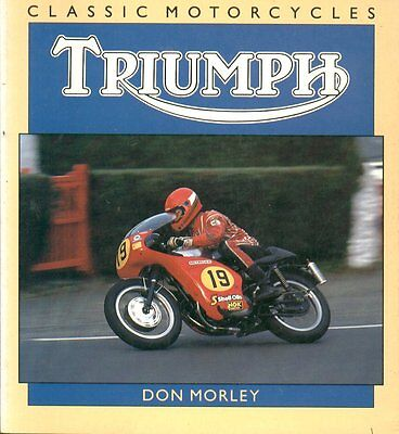 TRIUMPH TIGER  SP.TWIN THUNDERBIRD TROPHY BONNEVILLE 38- PRODUCTION HISTORY BOOK