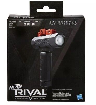 Hasbro Nerf Rival Tactical Flashlight Grip Attachment Led Light FREE SHIPPING