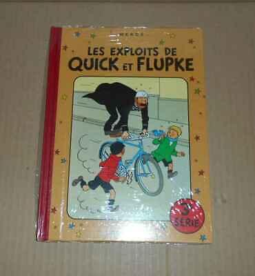 BD Hergé Exlpoits de Quick et Flupke 3e série RE sous cello