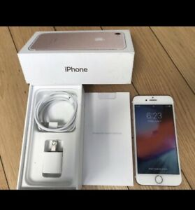 Mint Rose Gold iPhone 7, 32Gb and factory unlocked