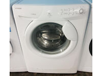 c305 white hoover 6kg 1400spin A+A washing machine comes with warranty can be delivered or collected