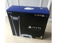 Playstation 5 Console Digital Edition Brand New Sealed PS5
