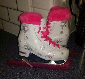 Size 11 Girls ice skates