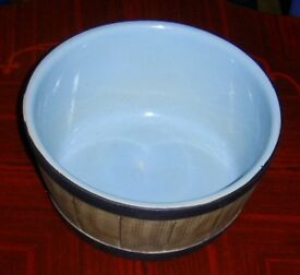 Blue Pearson Pottery Bowl Made By Pearson Pottery of Chesterfield