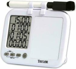LCD Digital Kitchen Timer Count Down Up Loud Alarm Clock Magnetic Whiteboard