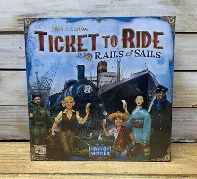 Days of Wonder: Ticket to Ride - Rails & Sails board game covid 19 (Rails Board Game coronavirus)