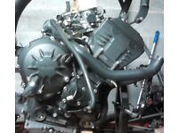 YAMAHA R1 2007 COMPLETE ENGINE / ELECTRICS AND OTHER PARTS